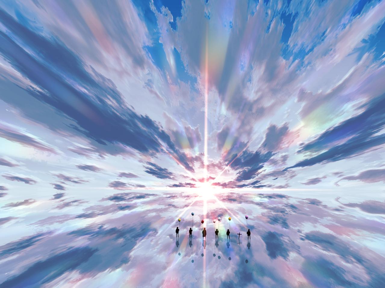 僕らの英雄譚 Illust of faPka scenery illustration background