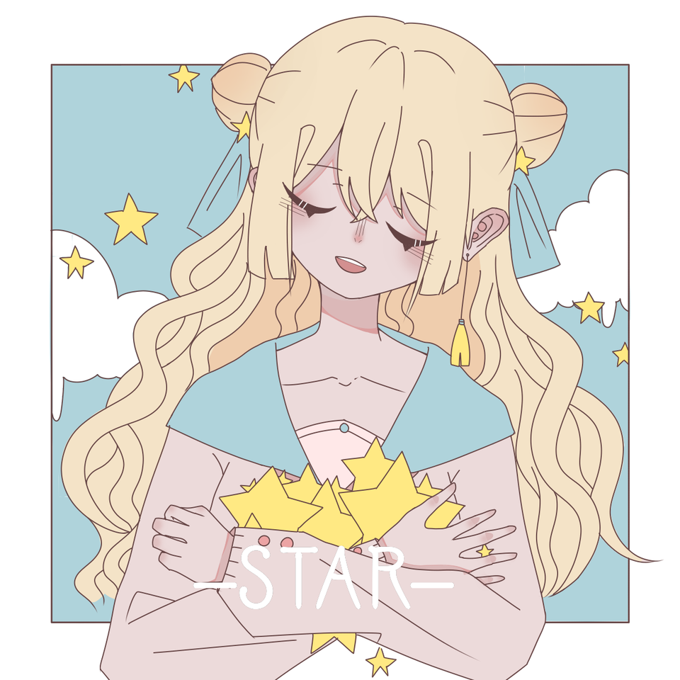 –STAR– Illust of 桜庭花莓. medibangpaint