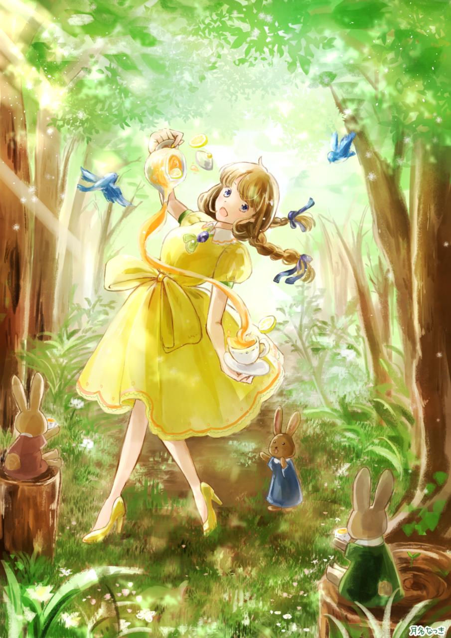 森とレモンティー