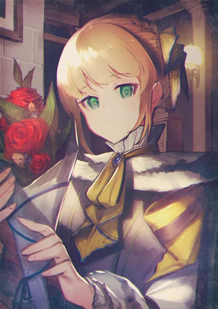 Rose Illust of くれ oc girl