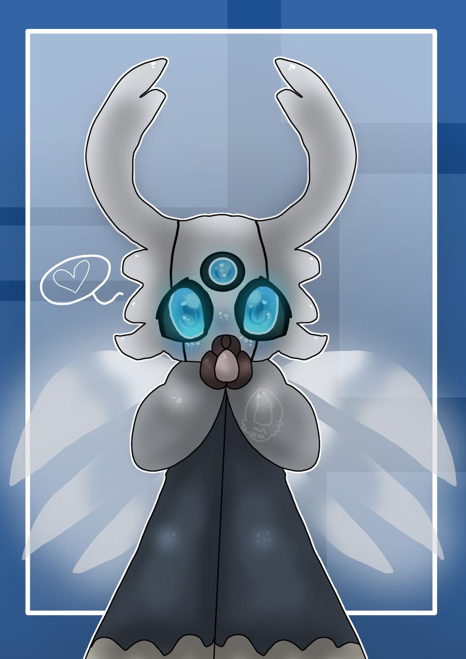 Symmetry practice Illust of Squidkid64 medibangpaint oc cute Vessel_Vote symmetrypen Hollow_Knight