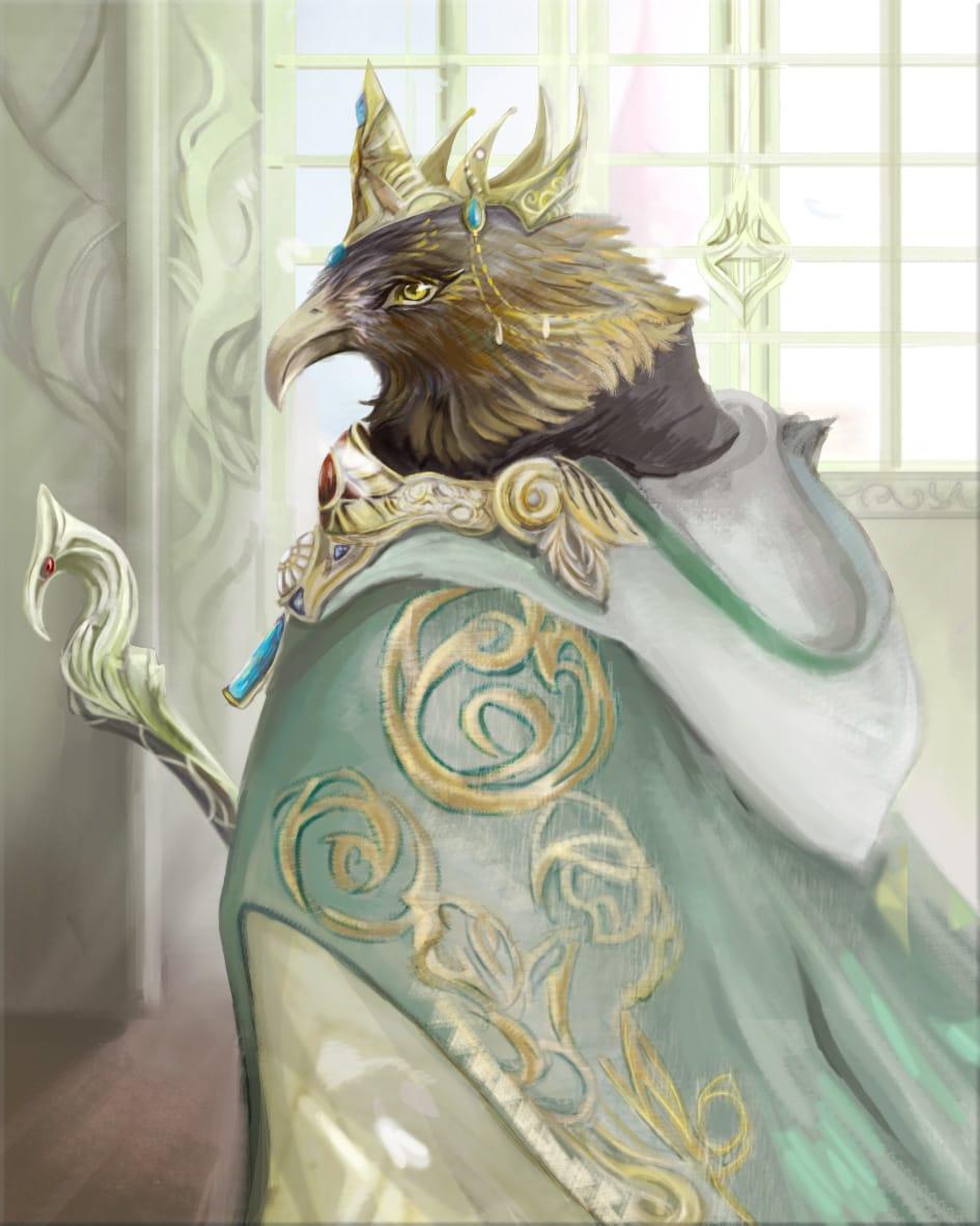 登基 Illust of May June2021_Anthropomorphism 鷹