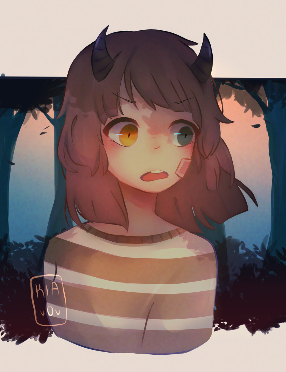 My Demon OC girl