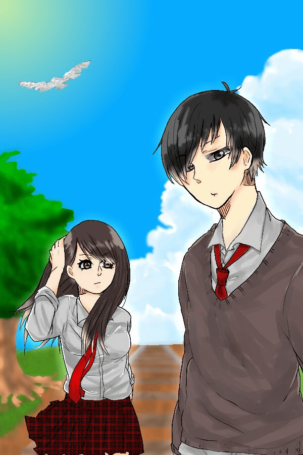 Draw This In Your Challenge 01! Illust of Akio doodle イラスト好きな人と繋がりたい drawing background tutorial anime illustration animation イラストレーション メディバンペイント