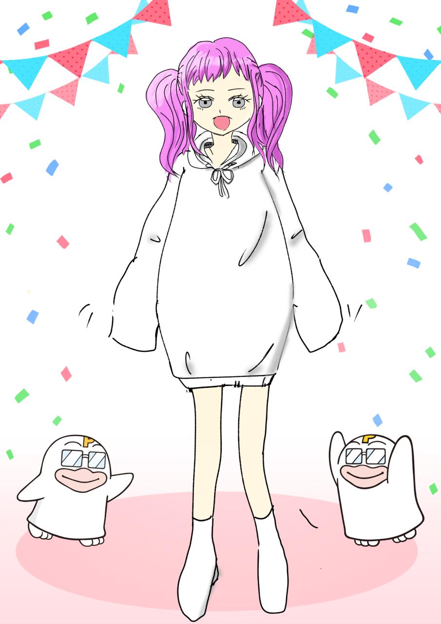真似っ子彼女 Illust of 桃恋 PICO公式キャラクターPICOQガールフレンド大募集!!コンテスト medibangpaint