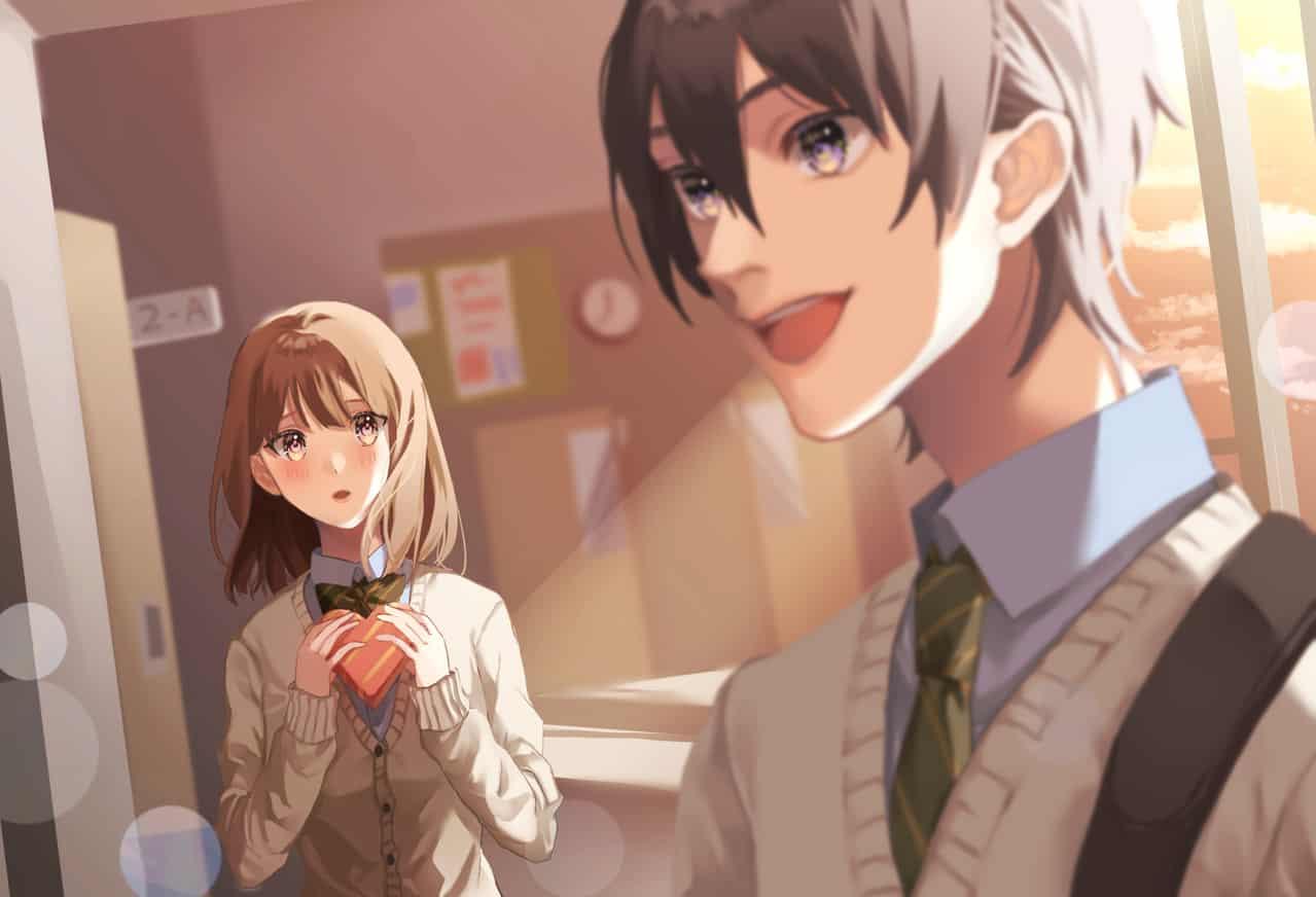 告白3秒前 Illust of しゅか Feb2020:VDAY girl