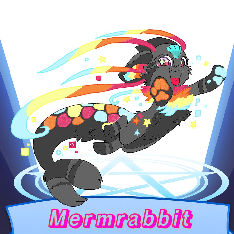 Mermaid+rabbit=mermrabbit Illust of Catnoir SoBadItsGood