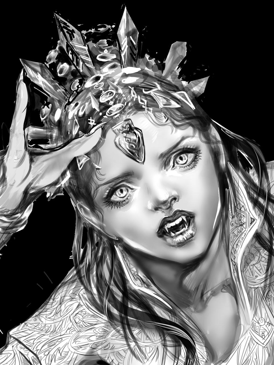 Illust of 吾桑 medibangpaint vampire