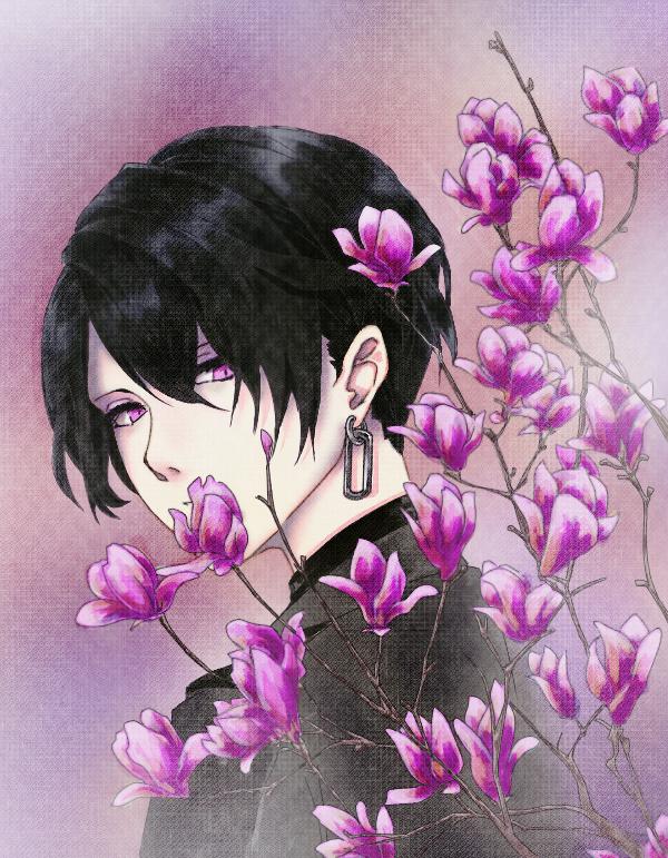木蓮 Illust of あおかわ medibangpaint
