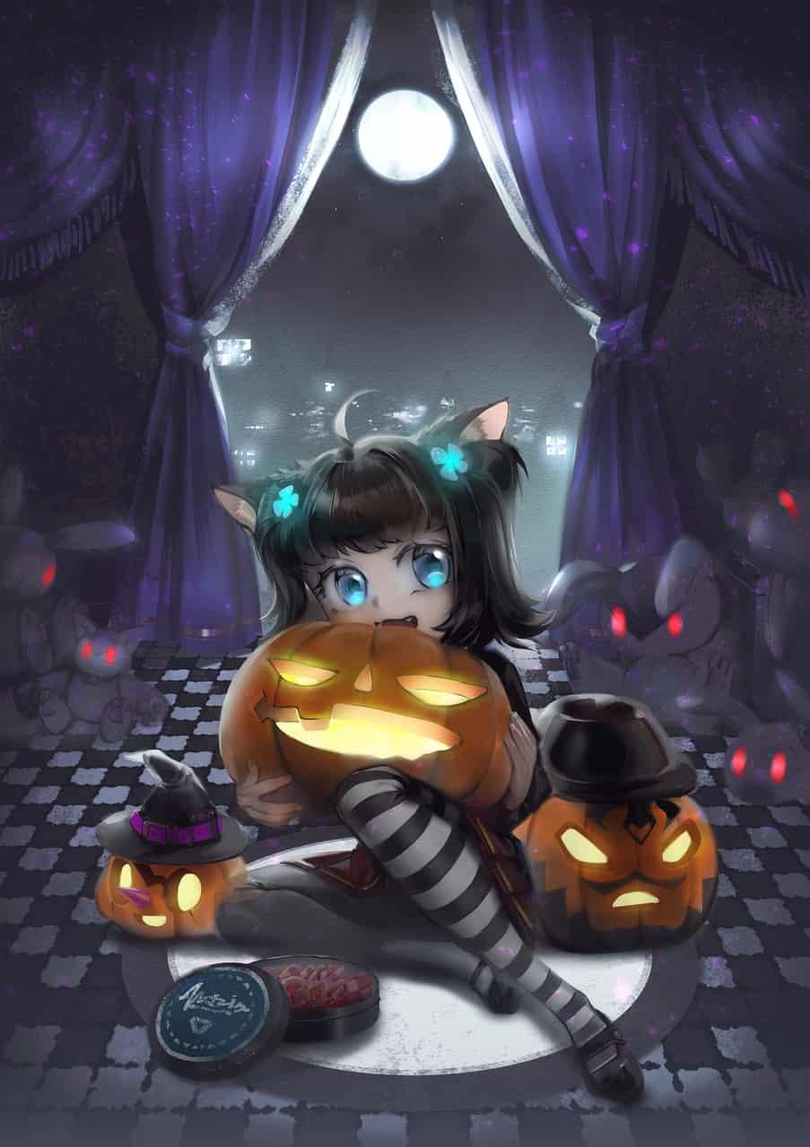 黒猫 Illust of 田黒類 Oct.2019Contest
