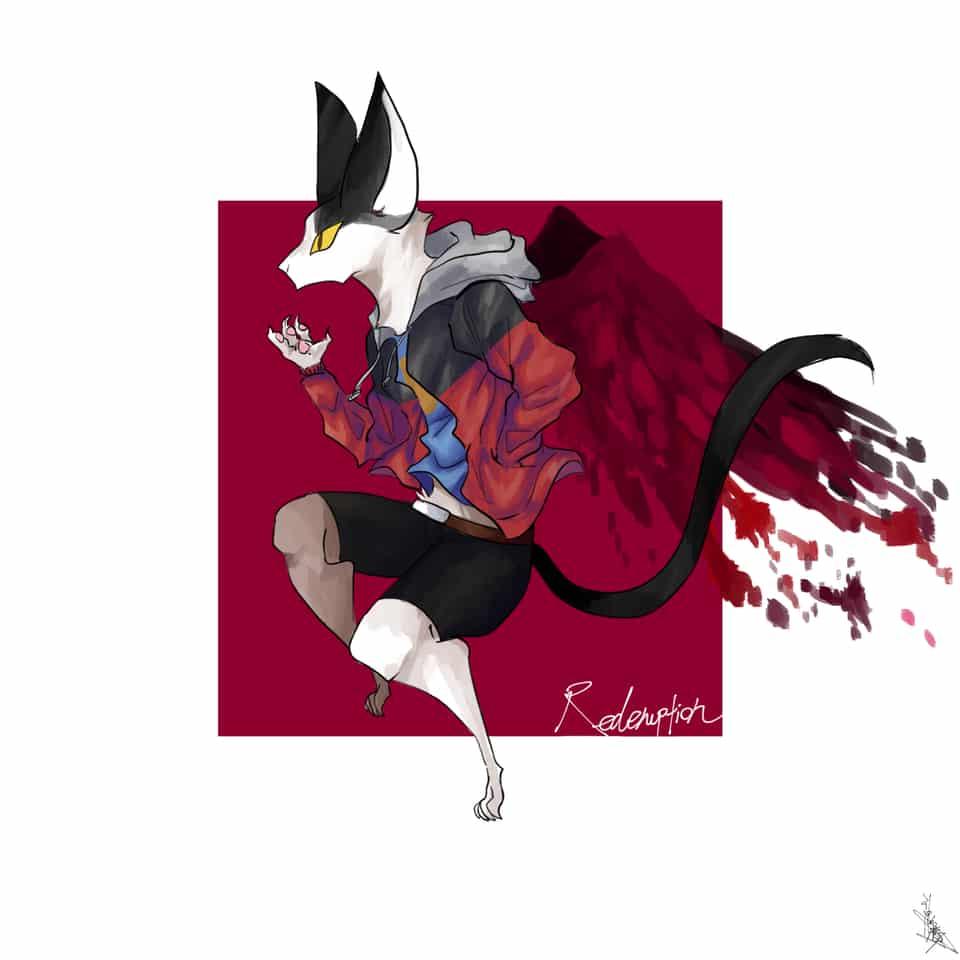 Redemption Illust of 滝沢@なるほど。 September2020_Contest:Furry oc furry