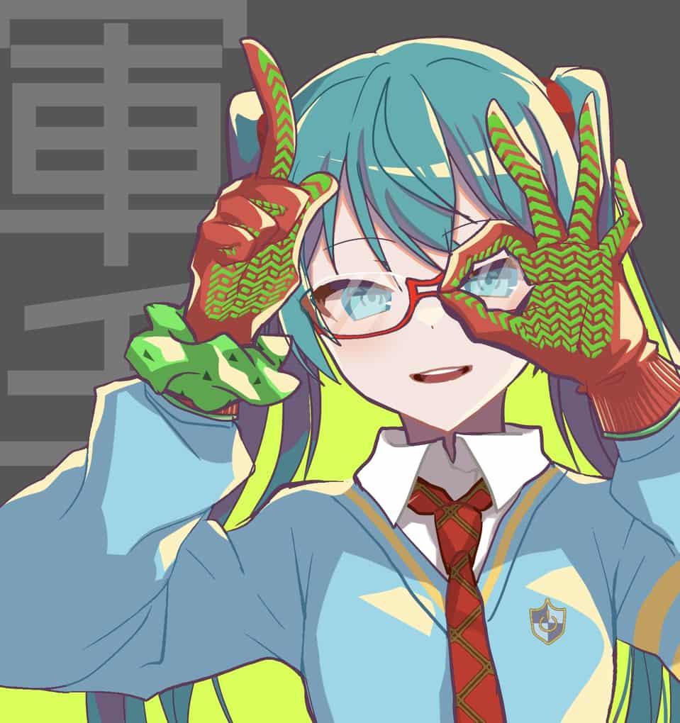 ディープスカイ→DE:MONSTAR Illust of レヅキ VOCALOID モジュール hatsunemiku ディープスカイ DE:MONSTAR