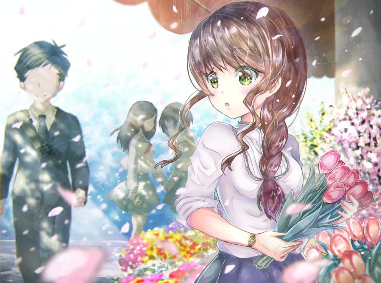お花屋さん Illust of andansipoo