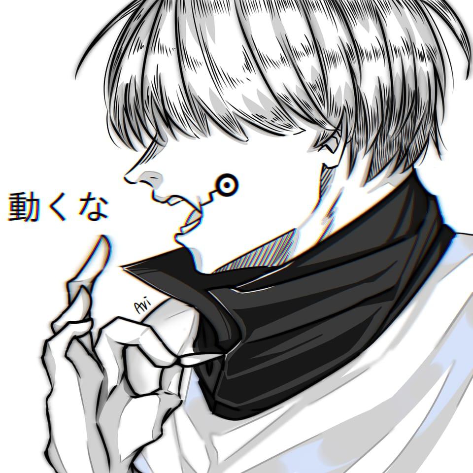 狗巻棘 Inumaki Toge Illust of aericchan JujutsuKaisenFanartContest イラストレーション fanart inumakitoge JujutsuKaisen illustration 狗巻棘