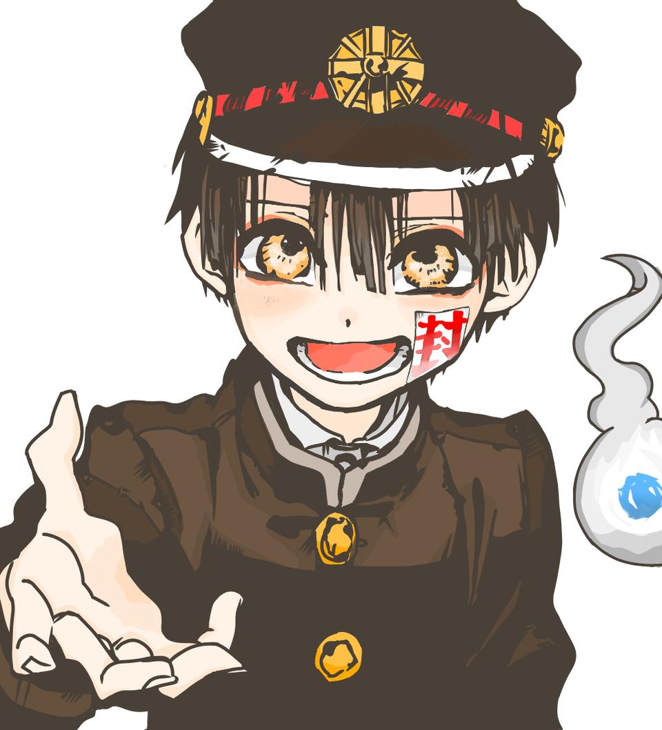 地縛少年花子くんの模写 Illust of 窪田もも medibangpaint 花子くん