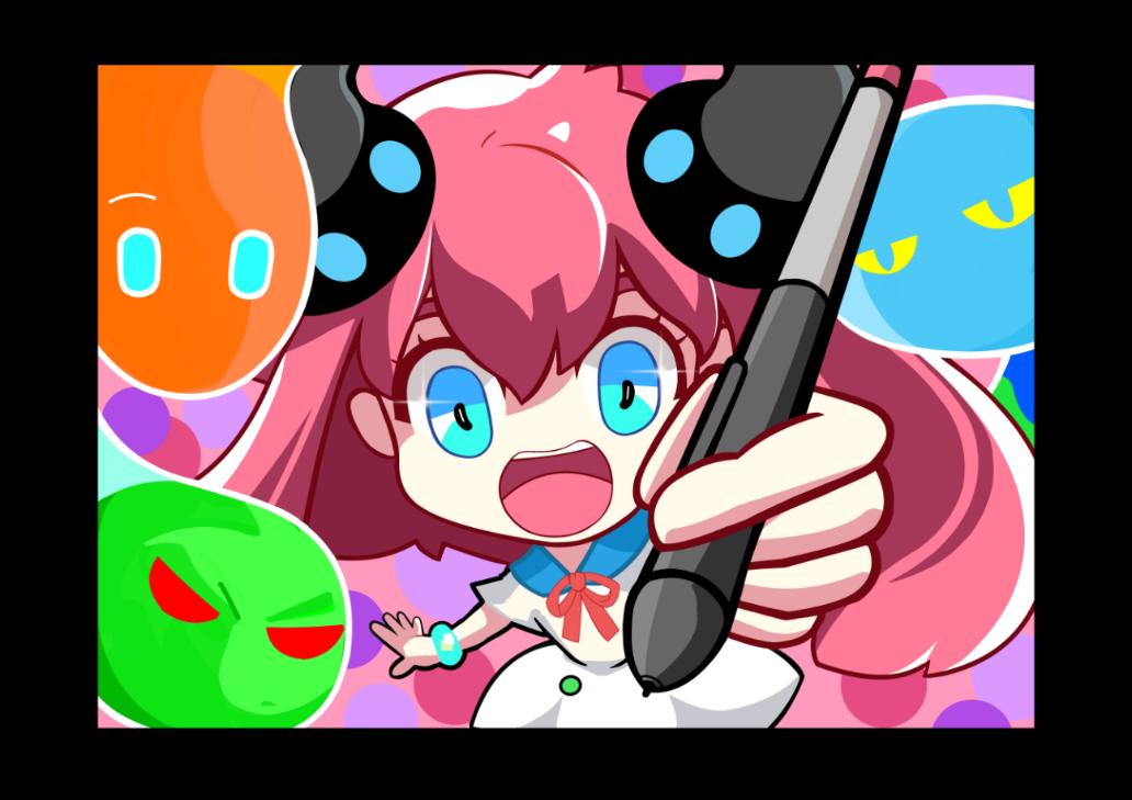 Medi-chan draws!!! Illust of HansPalomo MediBang_General_Election General_Election_Medi-chan