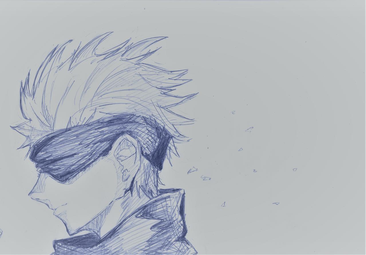アニメめっちゃかっこよかったよね。 Illust of えみるりあ JujutsuKaisen SatoruGojō