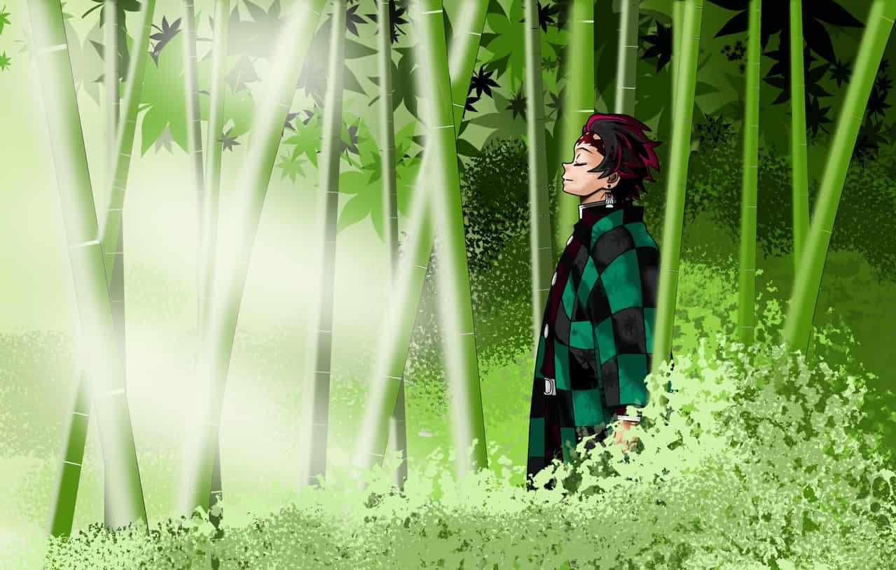 鬼よ、安らかに眠れ Illust of 那都 DemonSlayerFanartContest KamadoTanjirou Bamboo KimetsunoYaiba