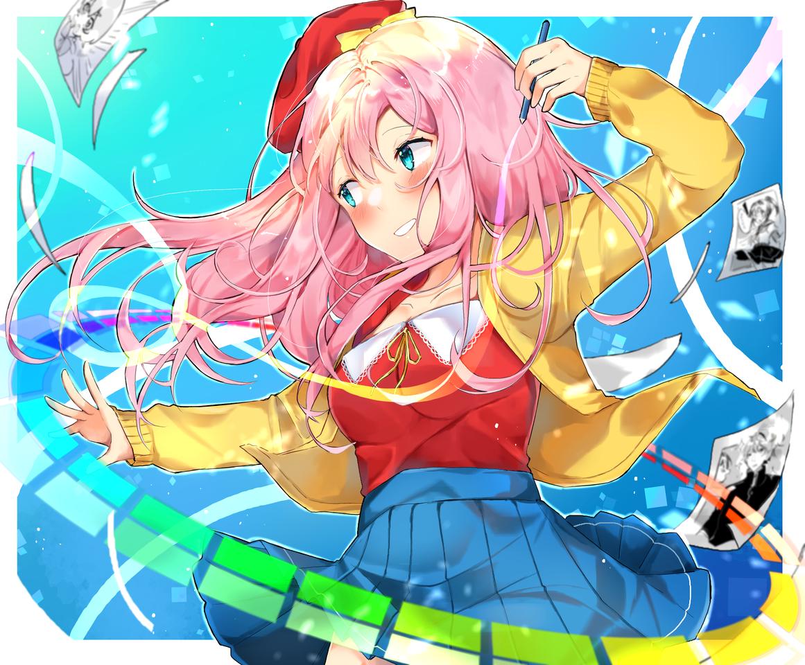 Medibanko Illust of Nemururin MediBang_General_Election General_Election_MediBanko anime animegirl