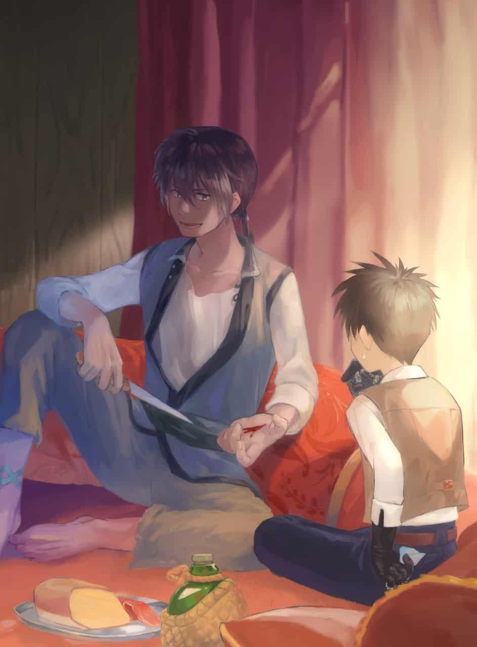 插圖 Illust of Ren/辰 CHOKOビースト!! fanfic illustration
