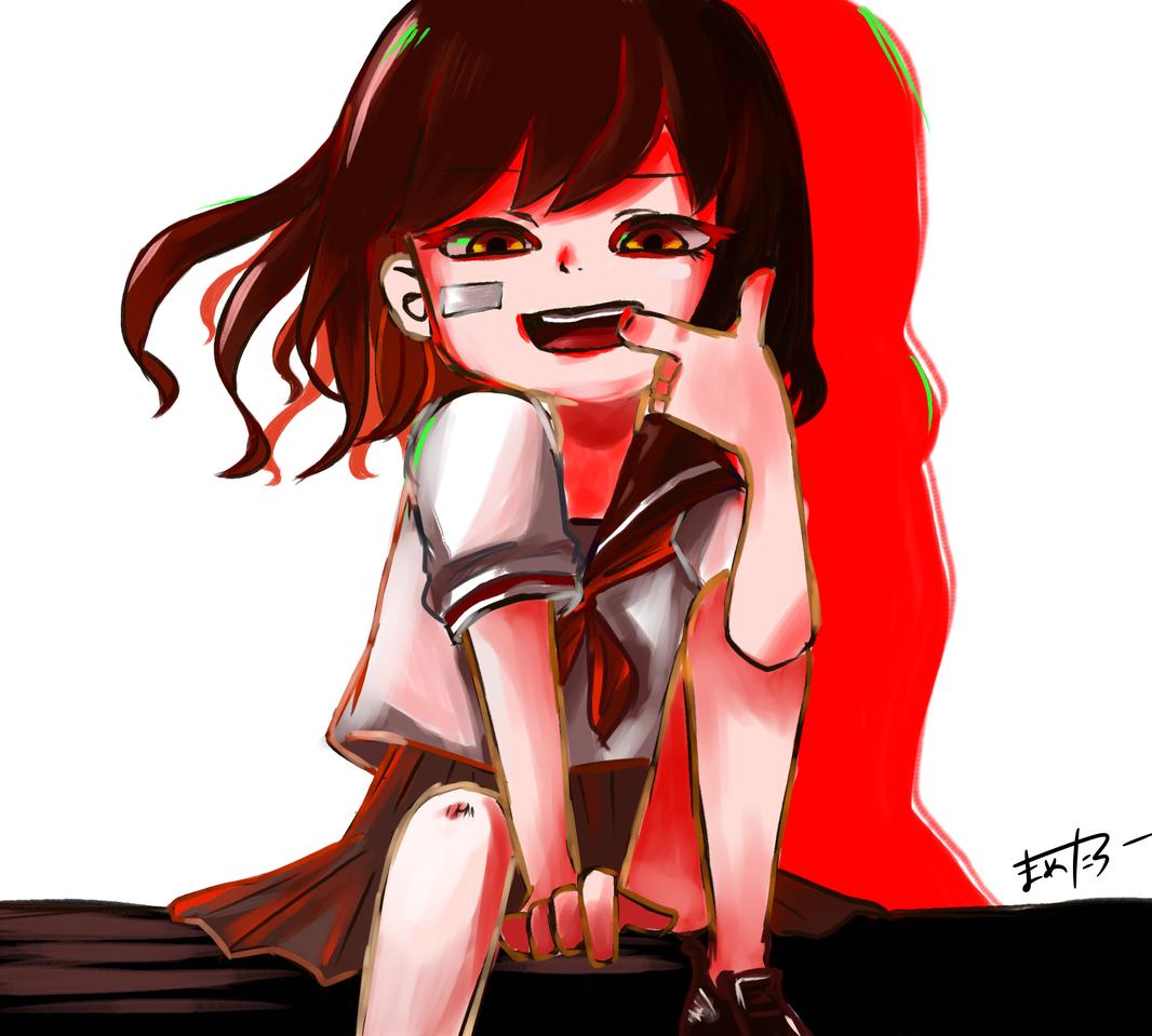 JK Illust of 金木犀 medibangpaint