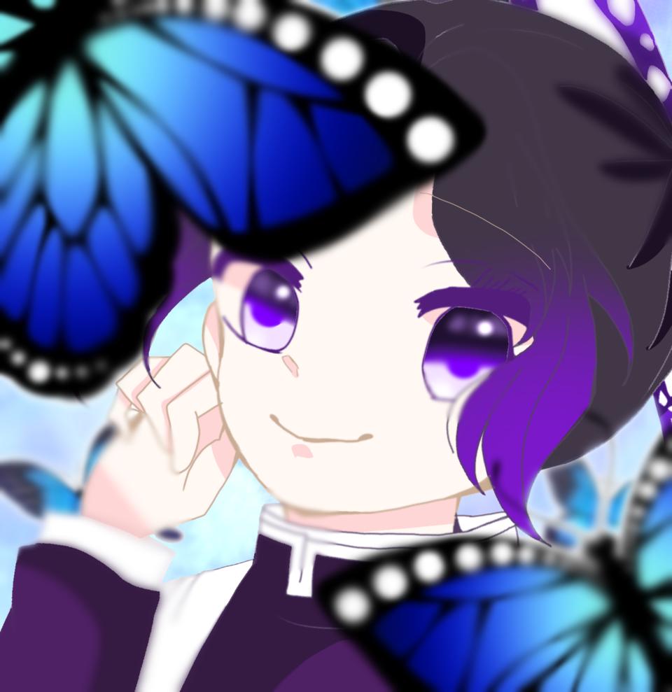 蝶の舞 Illust of 。いと。 DemonSlayerFanartContest KochouShinobu digital KimetsunoYaiba