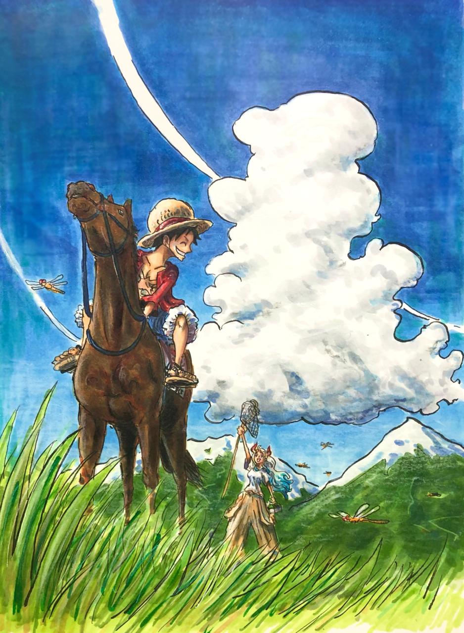 夏が来た Illust of ブバルディア ONEPIECE_FanartContest-Illustration ONEPIECE_FanartContest ONEPIECE