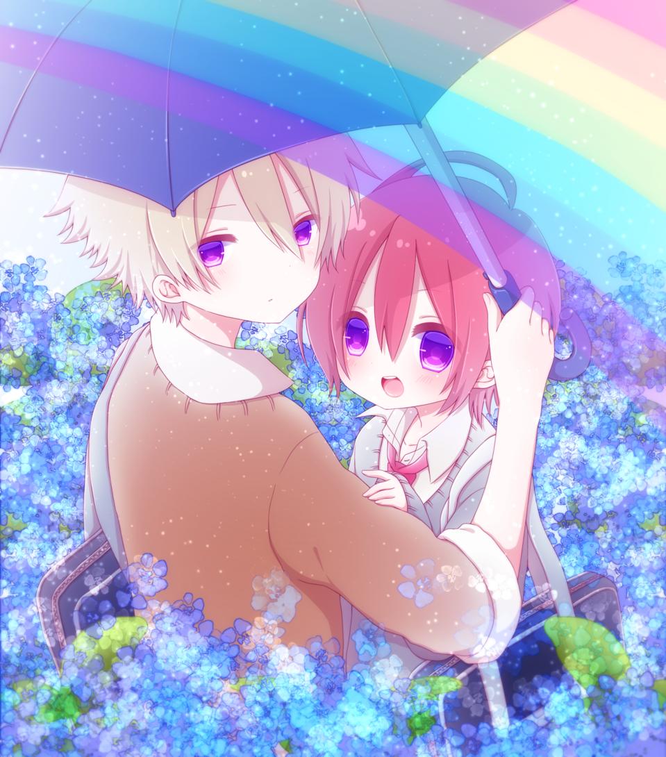 虹色のしあわせを、きみと。