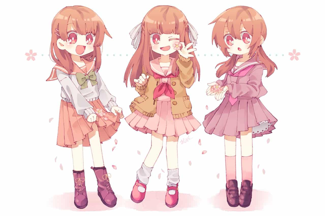 🌸桜色セーラー🌸 Illust of あわべに original