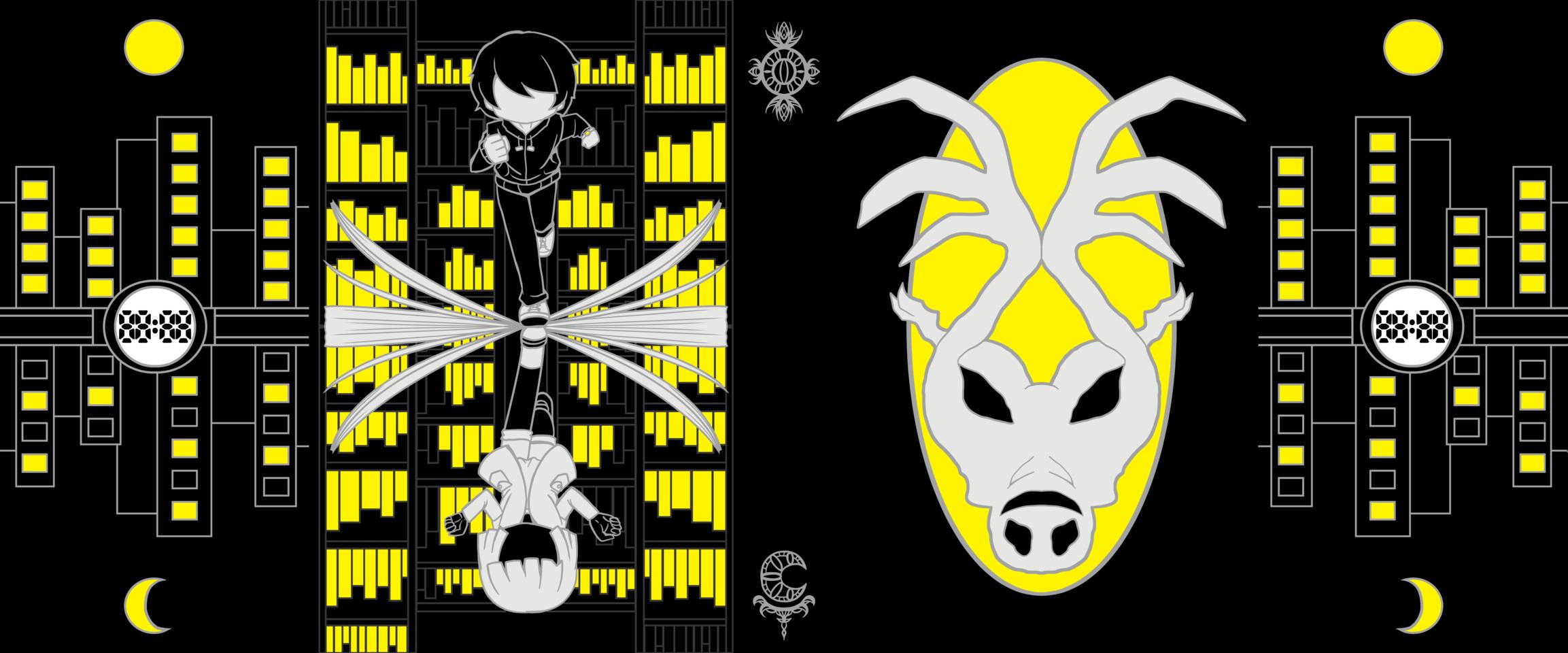 ぐるりと Illust of 雨月聖夜 Spinning_contest