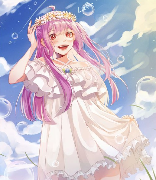 :')) Illust of Lanhuynh oc anime gái dễ animeart cute màu thương digi