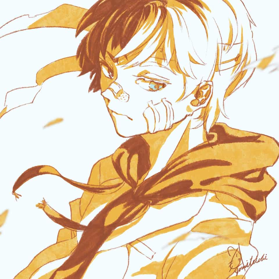 🌵 Illust of 陳田こころ original illustration boy doodle