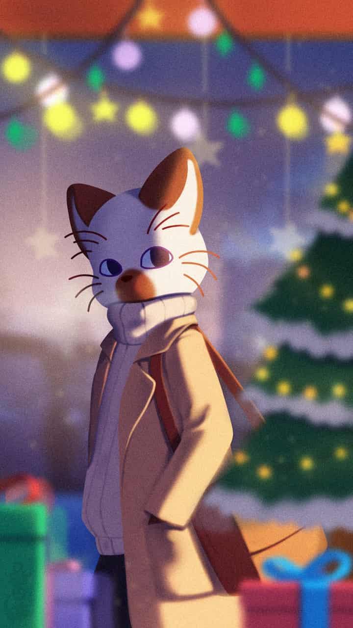 前夜 Illust of 喵田穆 September2020_Contest:Furry oc Magia Natale dolce elegante furry gatto