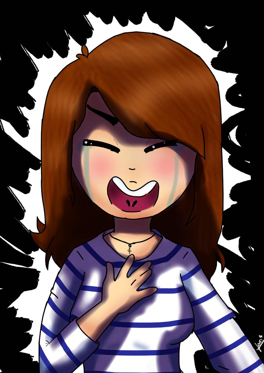 It' anybody waving back at me? Illust of melissa.storm medibangpaint crying jujú sad