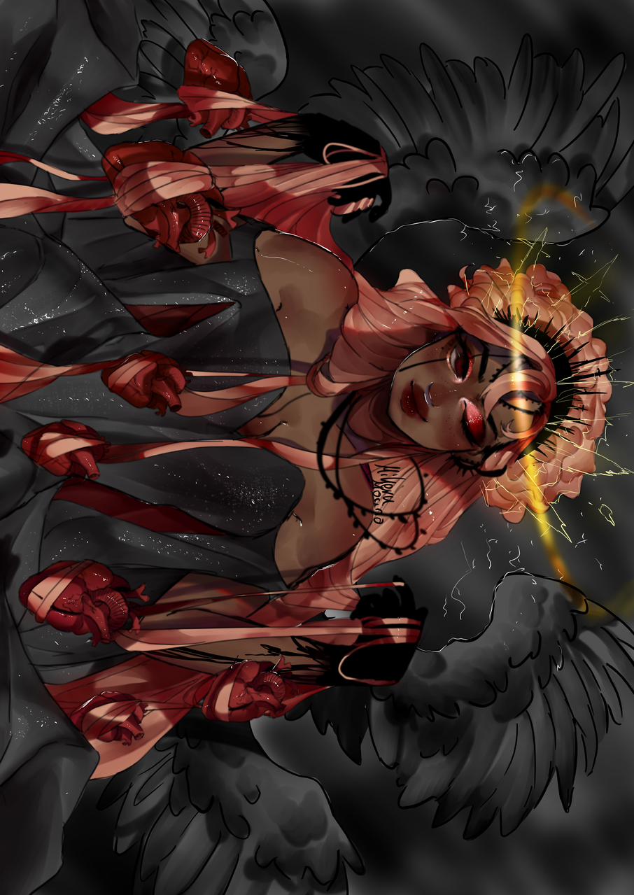 Amygdala  Illust of MIKERUMORINO medibangpaint anime devil manga