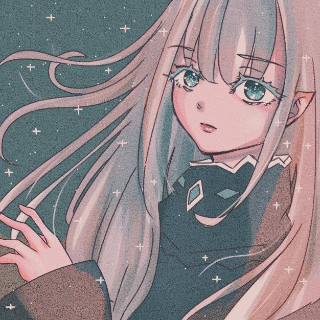 botsu Illust of Marfy pink メルヘン きらきら fairy girl kawaii