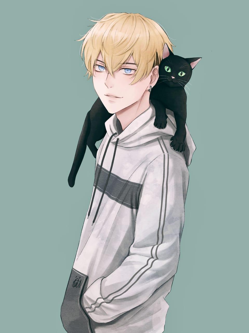 千冬 Illust of Ocat_illu August2021_Animal Tokyo_revengers cat 松野千冬 tokyorevengers fanart chifuyu