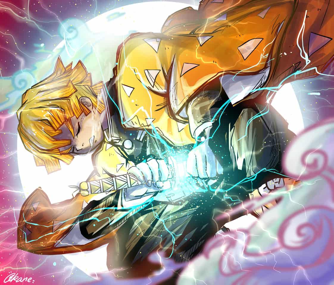 雷の呼吸 Illust of Akanilka DemonSlayerFanartContest ARTstreet_Ranking KimetsunoYaiba fanart ぜんいつ描きました。 AgatsumaZenitsu anime 鬼滅の刃ぜんいつ 雷の呼吸