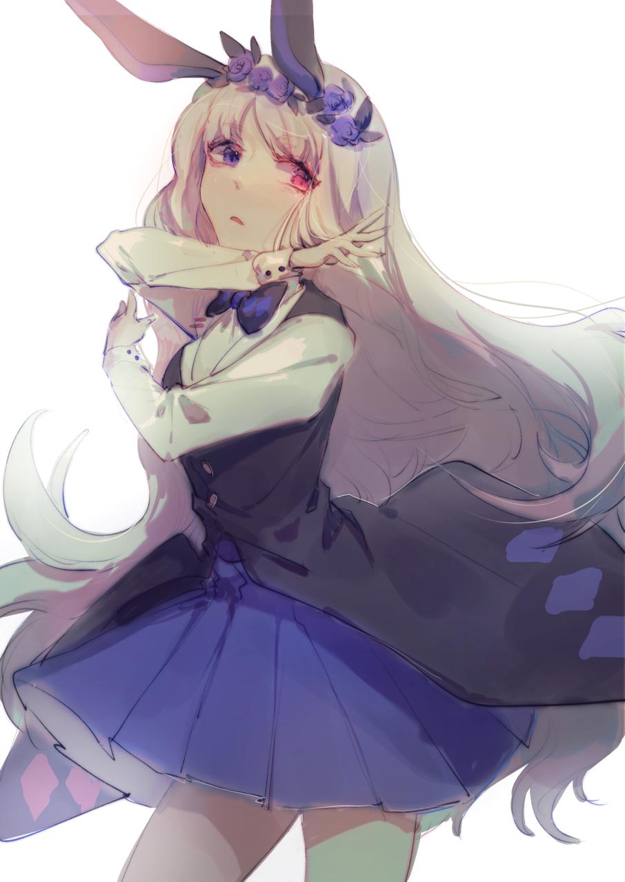 oc Illust of 沵沵 oc white_hair