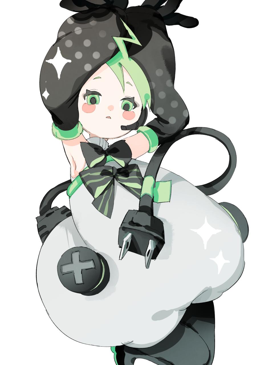 プラズマちゃん Illust of ひがしの original girl illustration