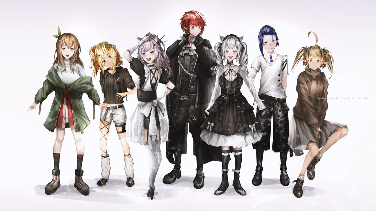 Characters Illust of kelvwinte Kyoto_Award2021[illustration] catears maid oc