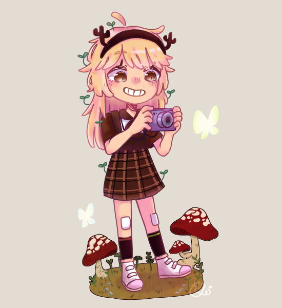 DTIYS (DodleCup) :0 Illust of 草莓 Strawy medibangpaint dtiys