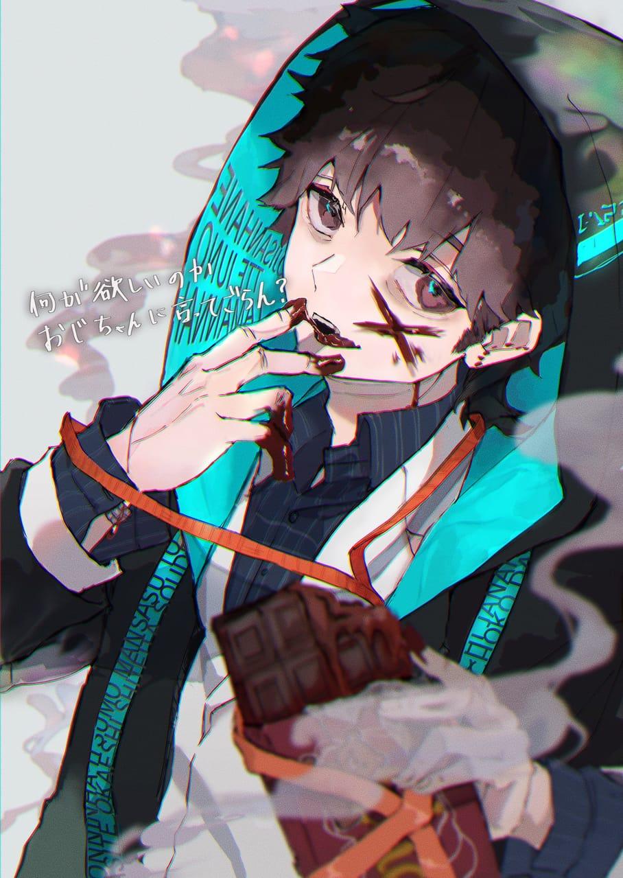いや、もっとおしゃれなもの渡せばよかったっっ Illust of さかしょうどん Valentine illustration oc