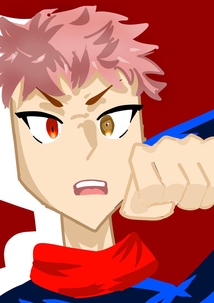 Titles are difficult to name Illust of ⊂((・⊥・))⊃ JujutsuKaisenFanartContest ContestEntry pink ⊂((・⊥・))⊃ Yuji_Itadori lol red JujutsuKaisen