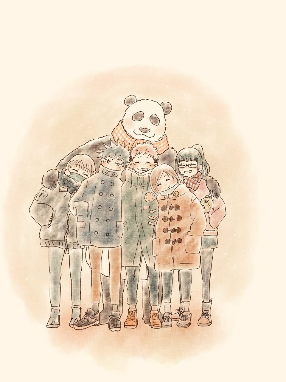 give it back   Illust of こん JujutsuKaisenFanartContest JujutsuKaisen 2年ズ 1年ズ