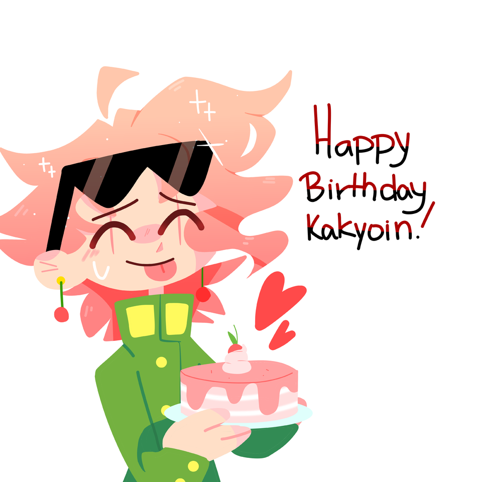 🎉Happy (late) birthday Kakyoin :D 🎉 Illust of kiielmao medibangpaint