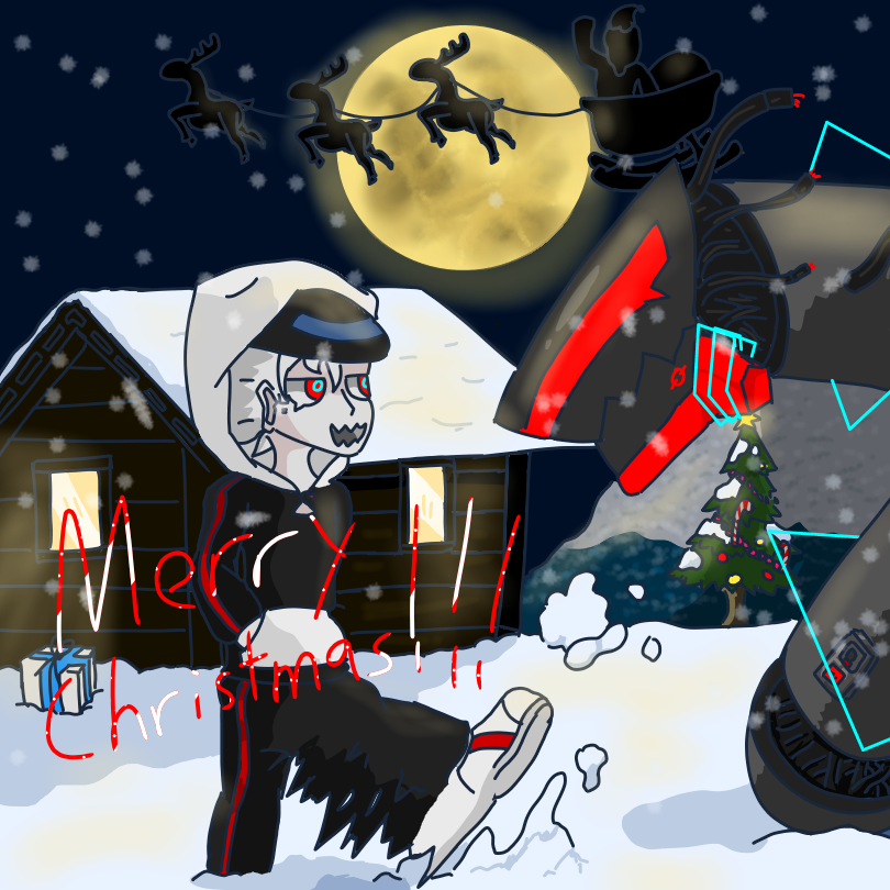 Christmas contest by【⛧♛Gettin Creative♛⛧】
