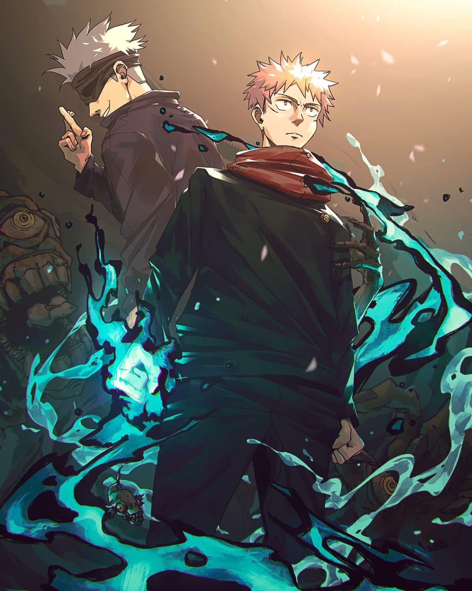 Divergent Fist! Illust of Paji JujutsuKaisenFanartContest