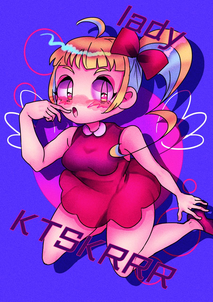 ♡ Illust of カツシカルキコ original girl oc サイドテール