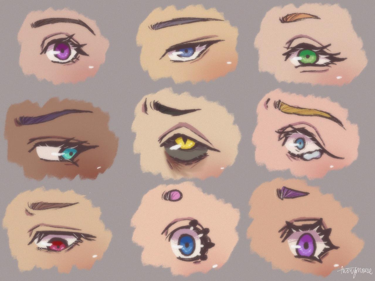 ✨eyes✨ Illust of AnonymouseSaysHoooi eyes sketch expressions daily_doodlez style cry emotions